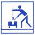 Reinigungszubehör und Fahrwägen